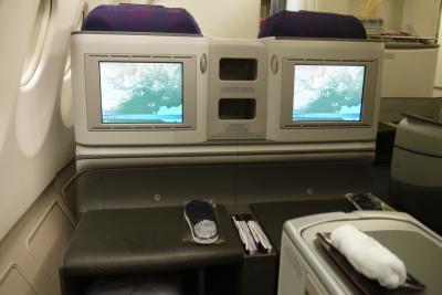 年末年始アテネとその近郊の旅 その1 中国国際航空(エアチャイナ)ビジネスクラスでアテネへGO
