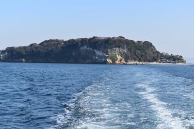 雰囲気のある無人島 猿島