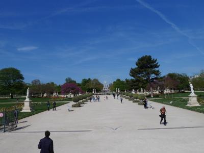 合わせて134歳、マイルでパリ18日間☆16日目コンコルド広場・チュイルリー公園