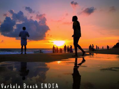 南アジア縦横断の旅(6)INDIA  インド入国.カニャクマリ・トリバンドラム・コバラム&バルカラビーチ