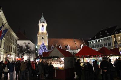 中欧4ヶ国クリスマスマーケット巡り6日間(5)~ブラティスラヴァ
