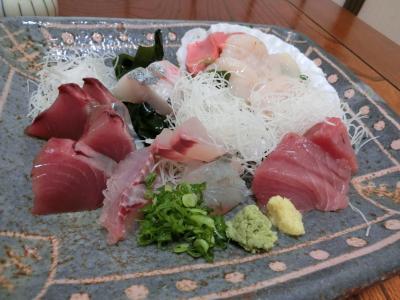 静岡遠州へ その7    東急ハーヴェストクラブ静波海岸でゆっくり。夕飯は近くの海鮮処「磯駒」へ。