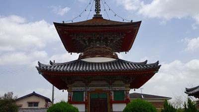 加西市 フラワーセンターからの帰り、住吉神社と酒見寺を参拝しました。