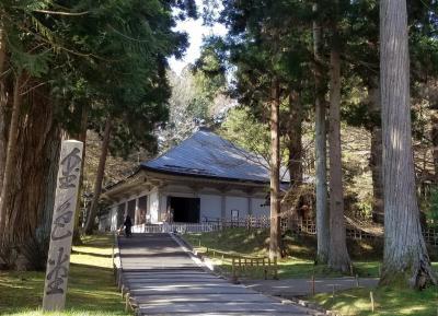 日本三景の松島と世界遺産平泉を廻る2泊3日。3日目はついに平泉へ。
