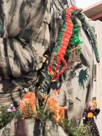 日立-8 日立風流物:裏山 伝説劇〔かびれ霊峰と御岩権現〕☆大蛇退治が見もの