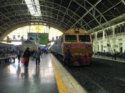 東南アジア一周Day17:ハジャイからバンコク~寝台特急でフアランポーン到着~