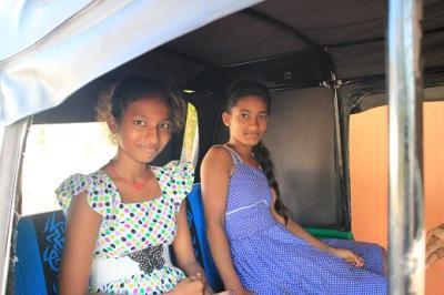 スリランカの一コマ