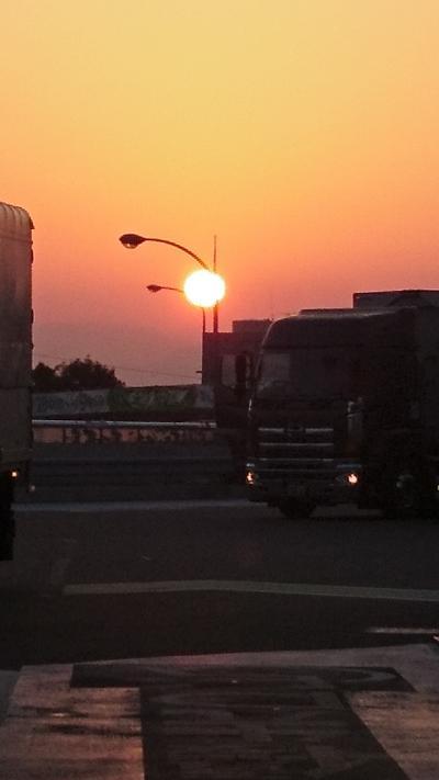 夜行バスで関西へ