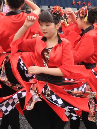 日立11 日立さくらまつり よさこい!フィナーレは総踊りで ☆紅色の活力.舞って弾んで