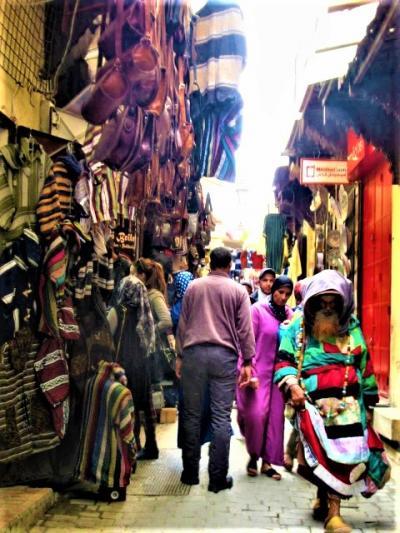 エミレーツ Cクラスで行く!旅人を魅了する幻想の国エキゾチックモロッコ!【4】( 世界一の迷宮都市・フェズ 編)
