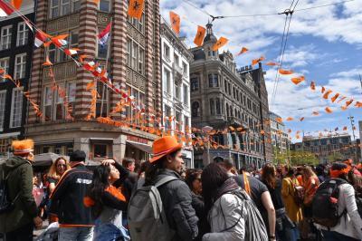 GW♪ オランダ女子一人旅(2日目:チーズ市、Kings Day)