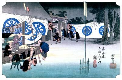 東海道53次、No33 亀山宿(46)を抜けて関宿(47)へ
