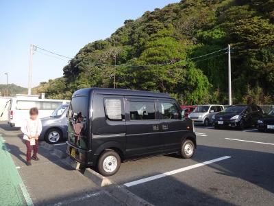 巨岩・奇岩の紀伊半島で車中泊 その1 湖西、幸田、津、松阪の道の駅をたどりつつ