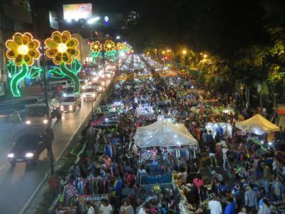 フィリピン 「行った所・見た所」 バギオのパラディンホテルに宿泊して市街地散策
