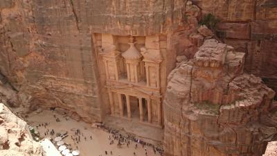 ヨルダン旅行① - ついにペトラ遺跡へ