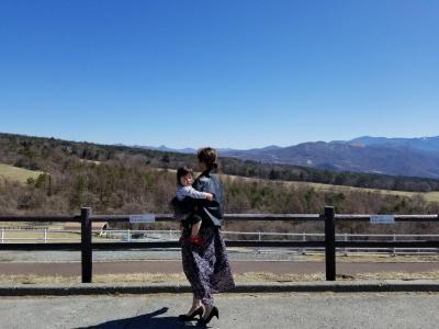 自然いっぱい八ヶ岳 ~1歳半の娘と~