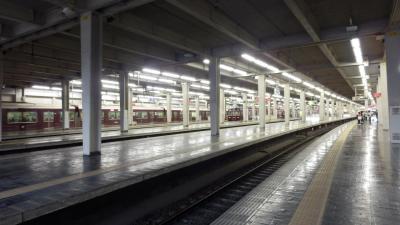 私鉄最大のターミナル駅、阪急梅田駅構内
