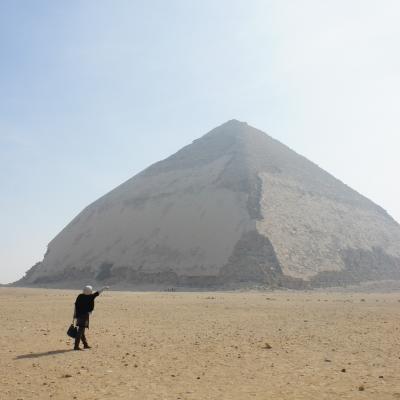 【4】嬉しい!2つのピラミッドひとり占め☆エジプト23日間