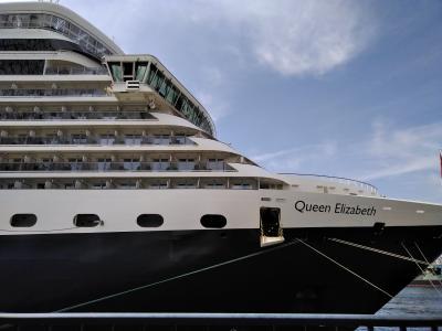 QEで巡る瀬戸内海クルーズ ① 大阪乗船⇒高知