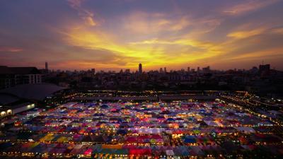 タイ2泊4日 一人旅初心者のカラフルバンコク48時間