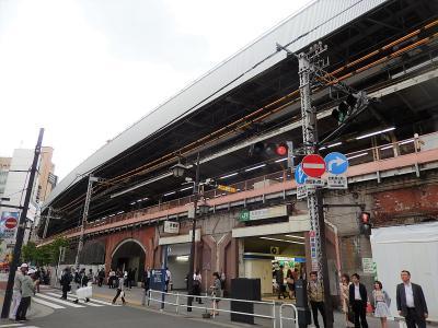 新橋駅付近の風景