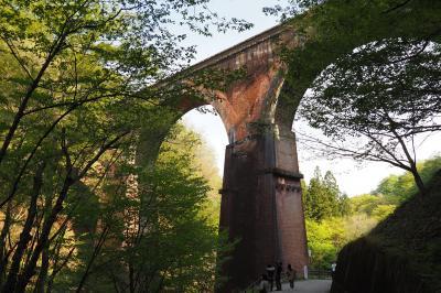 廃線の道歩き~めがね橋の碓氷