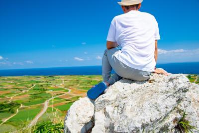 初沖縄旅行記② 伊江島へ