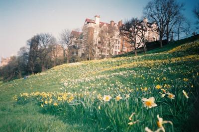 Edinburghは春になると