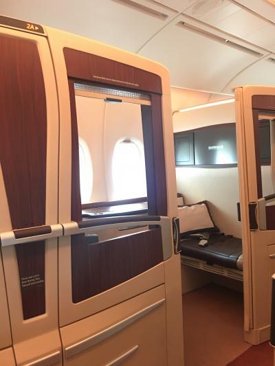 シンガポール航空A380スイートクラスで上海へ!