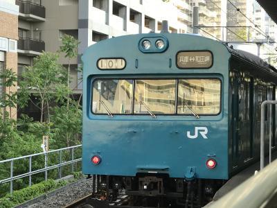 和田岬線、2018年4月29日、夕刻