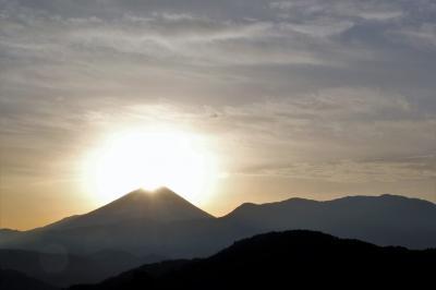 2017.12.15-16 山梨・富士川町 ダイアモンド富士に
