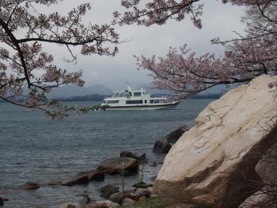 春の関西1デイパスで行く滋賀 海津大崎の桜と近江八幡ヴォーリズとラ・コリーナ