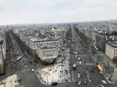 Hola!  Bonjour! 10日間 憧れの旅④(パリ、素敵な街歩き)