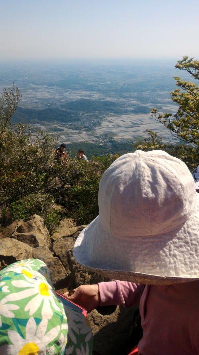 子連れ登山 第二弾・筑波山(2018.GW)~帰省がてらファミリー登山をたのしみました~