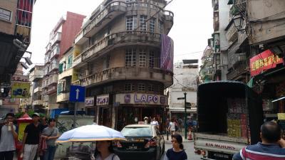 ピーチでマカオから香港の旅