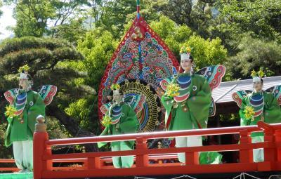 今年二度目のお伊勢参り  「春の神楽祭」 青空の下チョウが舞う