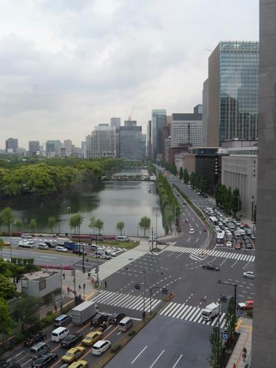 東京ミッドタウン日比谷の6階ガーデンから見られる風景