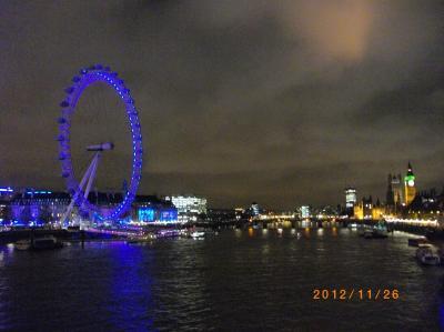 ロンドン パート1('12年11月)