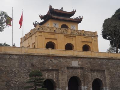 2018年3月、ベトナム、ハノイ旅行(9.ハノイ市内観光 タンロン遺跡)
