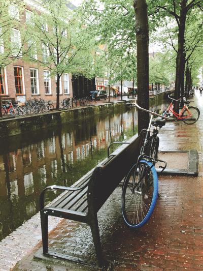 2018年のGWは気ままなヨーロッパ一人旅♪ Vol. 4 - 海外旅行中の雨が初めて嬉しいと感じた、雨の景色が映える街、デルフト