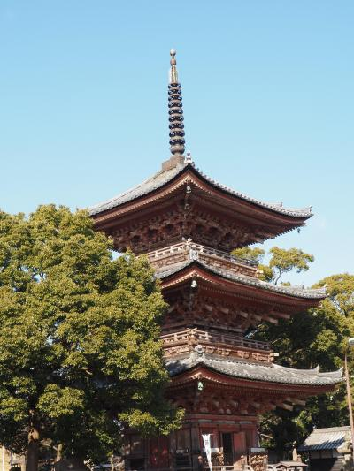 甚目寺 甚目寺高徳院 左甚五郎作の大黒天さま? 漆部神社と続く境内にびっくりです!