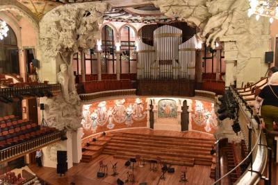 2017年(9)スペイン<午前マラガ市内観光、夕方バルセロナ着カタル-ニャ音楽堂で演奏会へ>