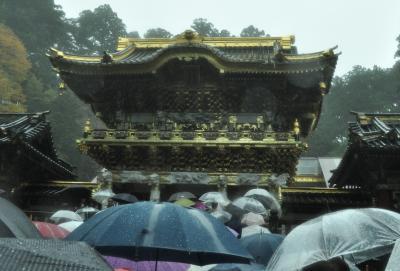 雨の日光東照宮