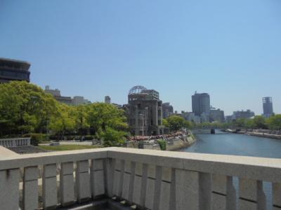 広島弾丸旅行ー3 (相生橋・原爆ドーム・アストラムライン)