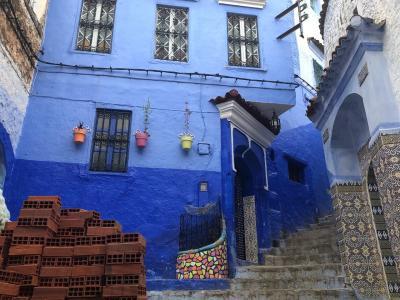 モロッコ 青い街シャウエン&サハラ砂漠