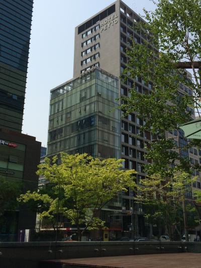 GWのソウルでグルメ&街歩き at 江南 2018(6)「ホテル ペイト サムソン」