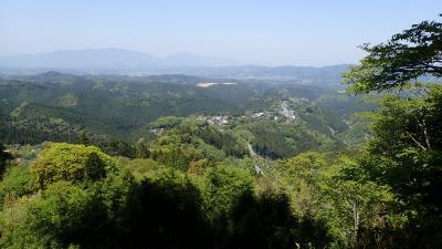 金峯山寺蔵王堂夜間拝感プラス新緑の吉野山散策1泊2日