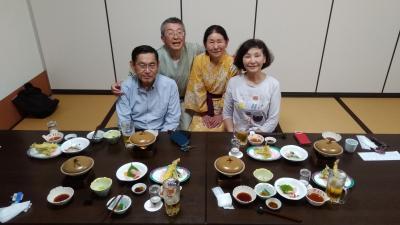 名古屋の友人夫妻のホームスティの受入