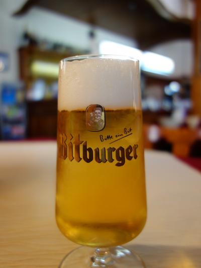 ストラスブールからトラムで国境を越えてケール市までビールを飲みに。