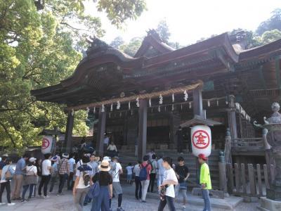 「琴平」 四国旅行3日目 金丸座や門前町を見て、うどんをこねて、こんぴら山で参拝する旅